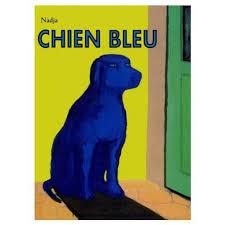 le chien bleu