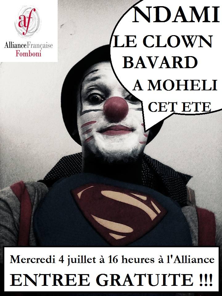 Clown Bavard Fomboni